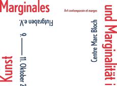 Marginales und Marginalität in der zeitgenössischen Kunst